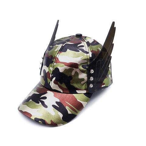 Camouflage Wing Hat | ACCESSORIES | STRAPPING BOY NYC | OUTFAIR
