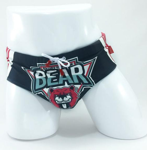 BEAR 18 Blue & Red | SWIMWEAR | ESTEVEZ | OUTFAIR | outfair.myshopify.com