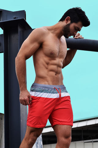 Reef Red Shorts | SHORTS | BATTYSTA | OUTFAIR