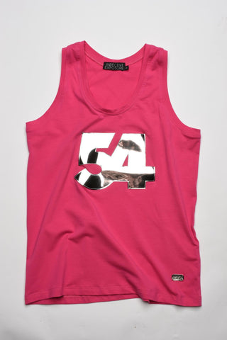 Fucsia 54 Mirror Tank Top | TANK TOP | INDECENT EXPOSURE | OUTFAIR | outfair.myshopify.com