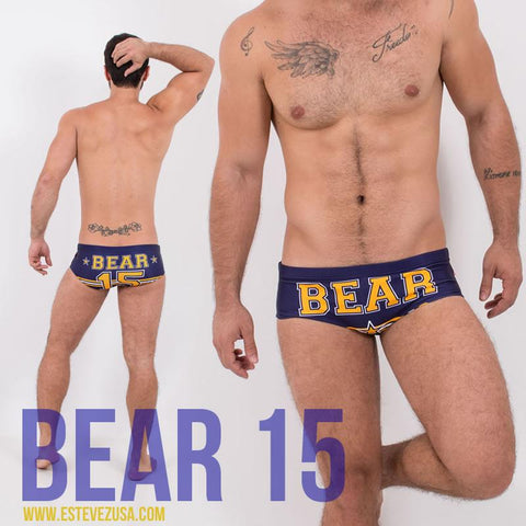 BEAR 15 Blue | SWIMWEAR | ESTEVEZ | OUTFAIR | outfair.myshopify.com