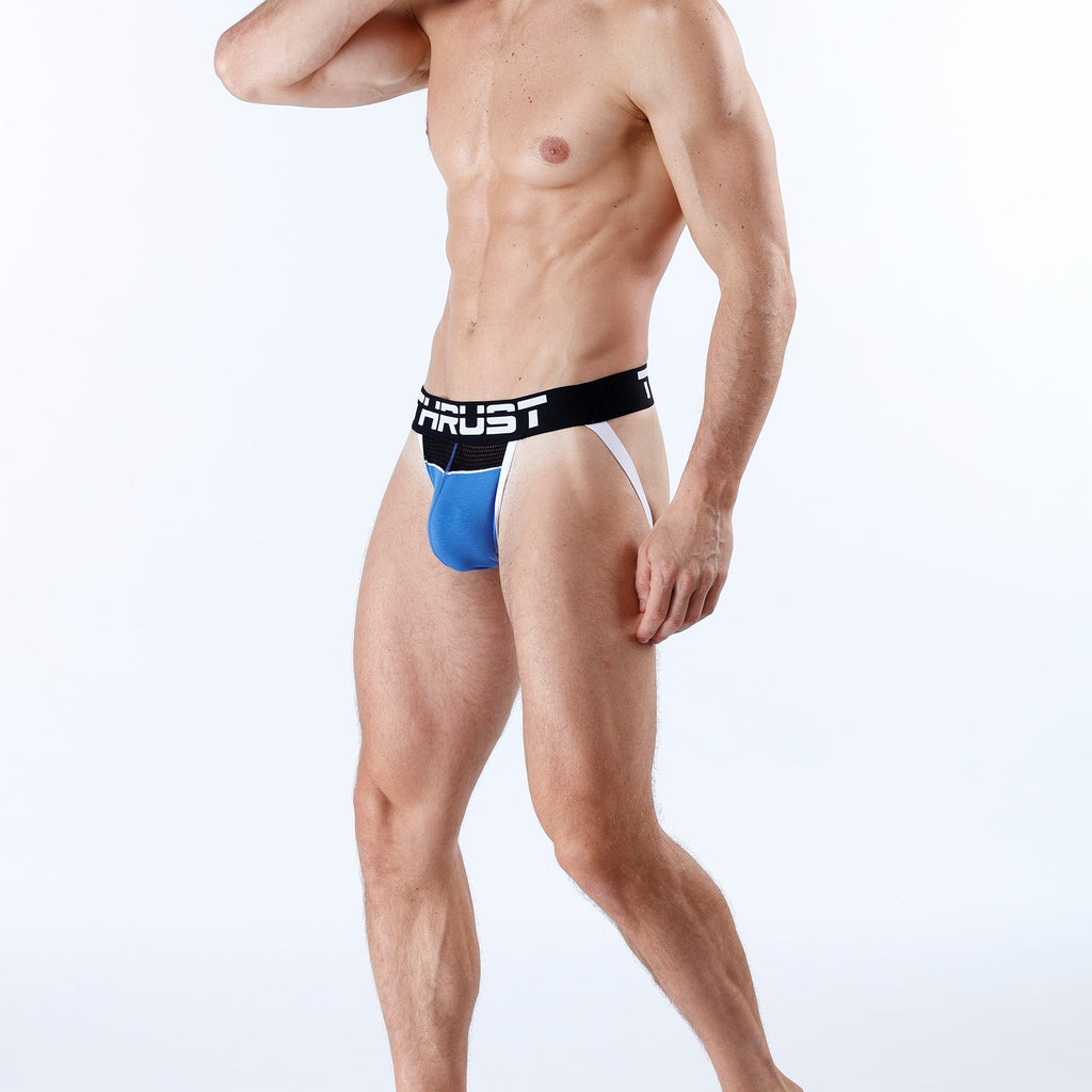 Thrust Jockstrap Blue