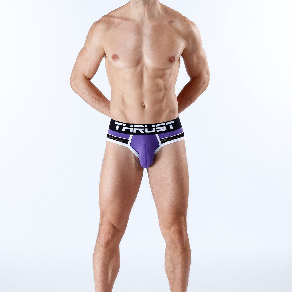 Thrust Jockbrief Purple