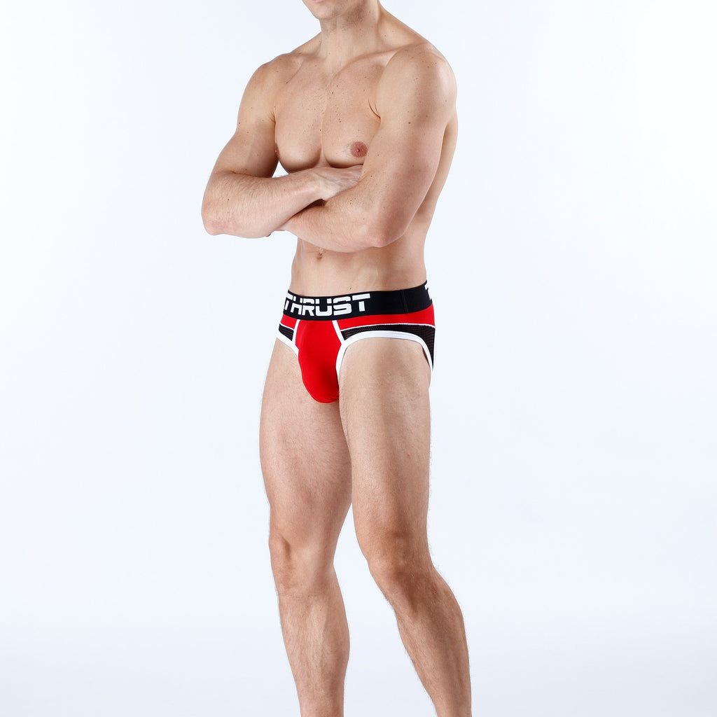 Thrust Jockbrief Red