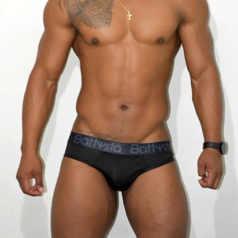 BLACK Briefs | UNDERWEAR | BATTYSTA | OUTFAIR