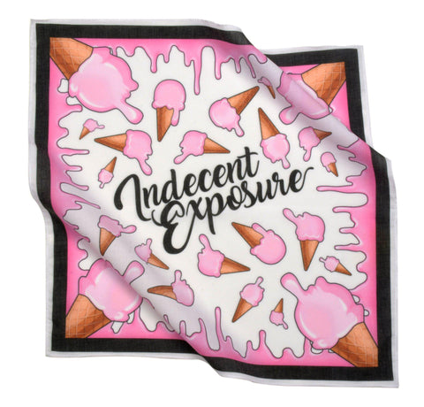 Ice Cream Logo Bandana |  ACCESSORIES | INDECENT EXPOSURE | OUTFAIR