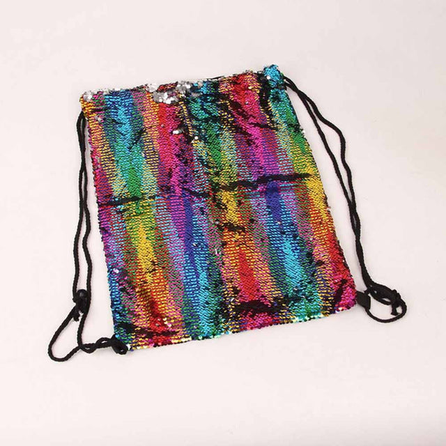 Rainbow Sequins Backpack