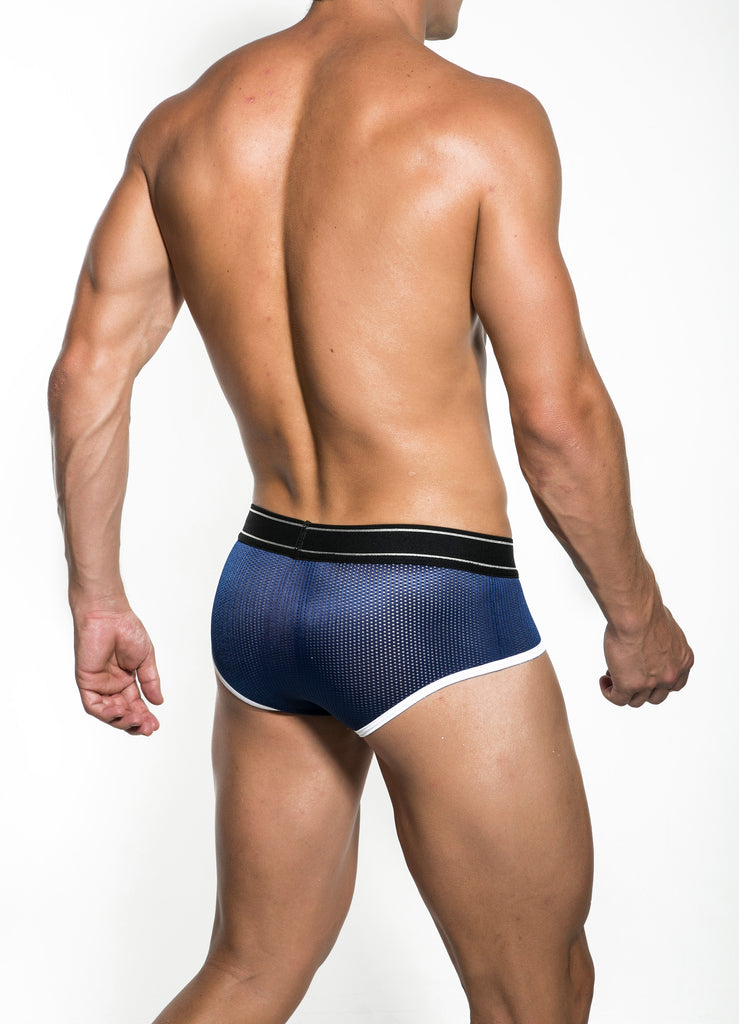 Navy Divo Latin Brief