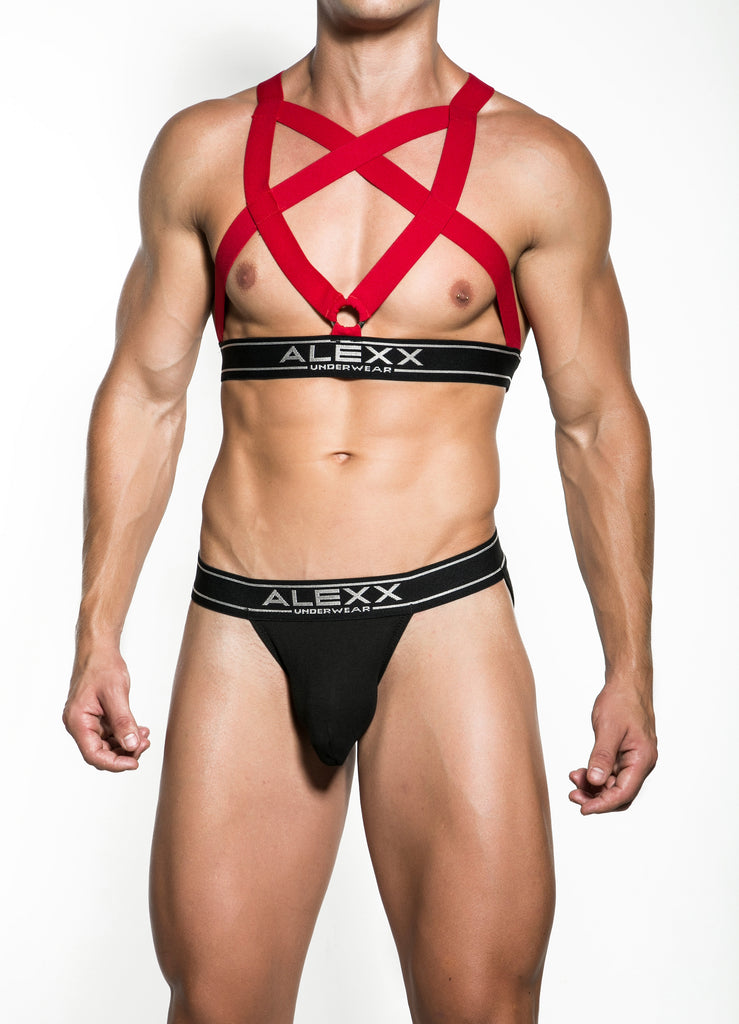 Red Party Harness