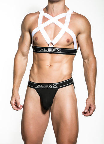 White Party Harness | UNDERWEAR | ALEXX | OUTFAIR