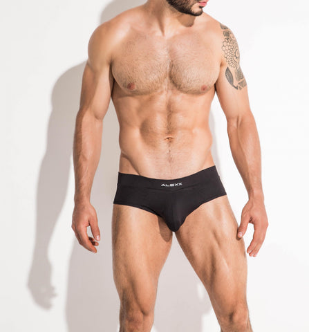 Handsome Brief Black | UNDERWEAR | ALEXX | OUTFAIR