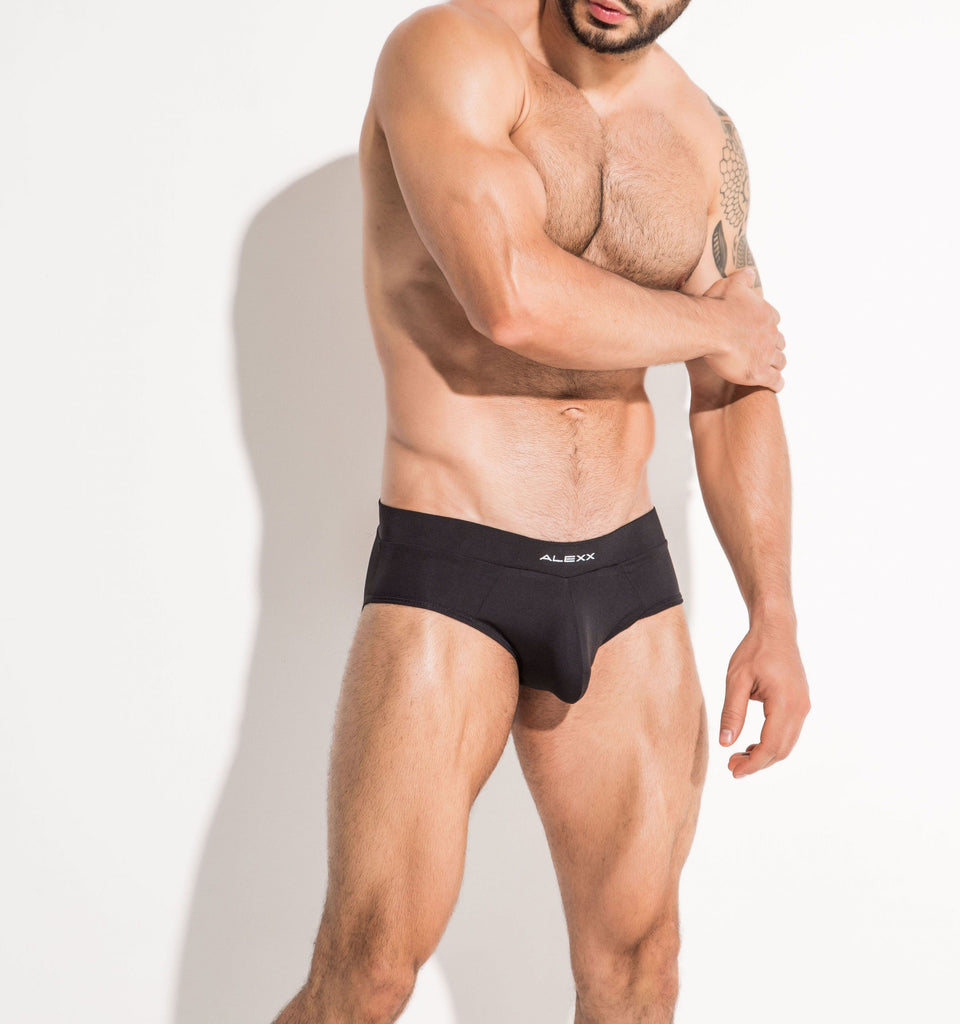 Handsome Brief Black