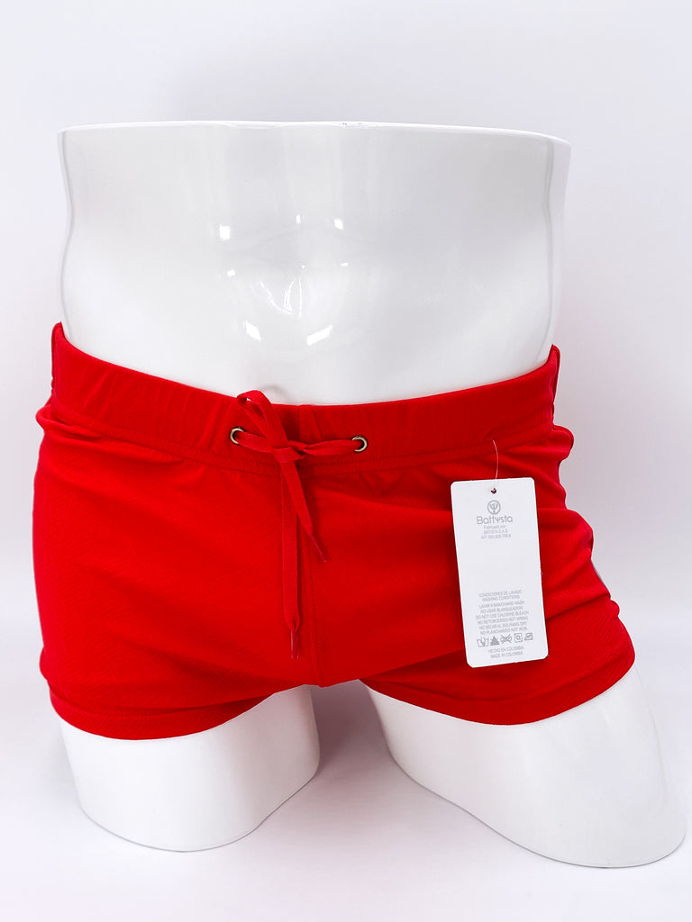 Candy Apple Red Commando Stretch Short Shorts