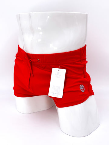 Candy Apple Red Commando Stretch Short Shorts | SHORTS | BATTYSTA | OUTFAIR