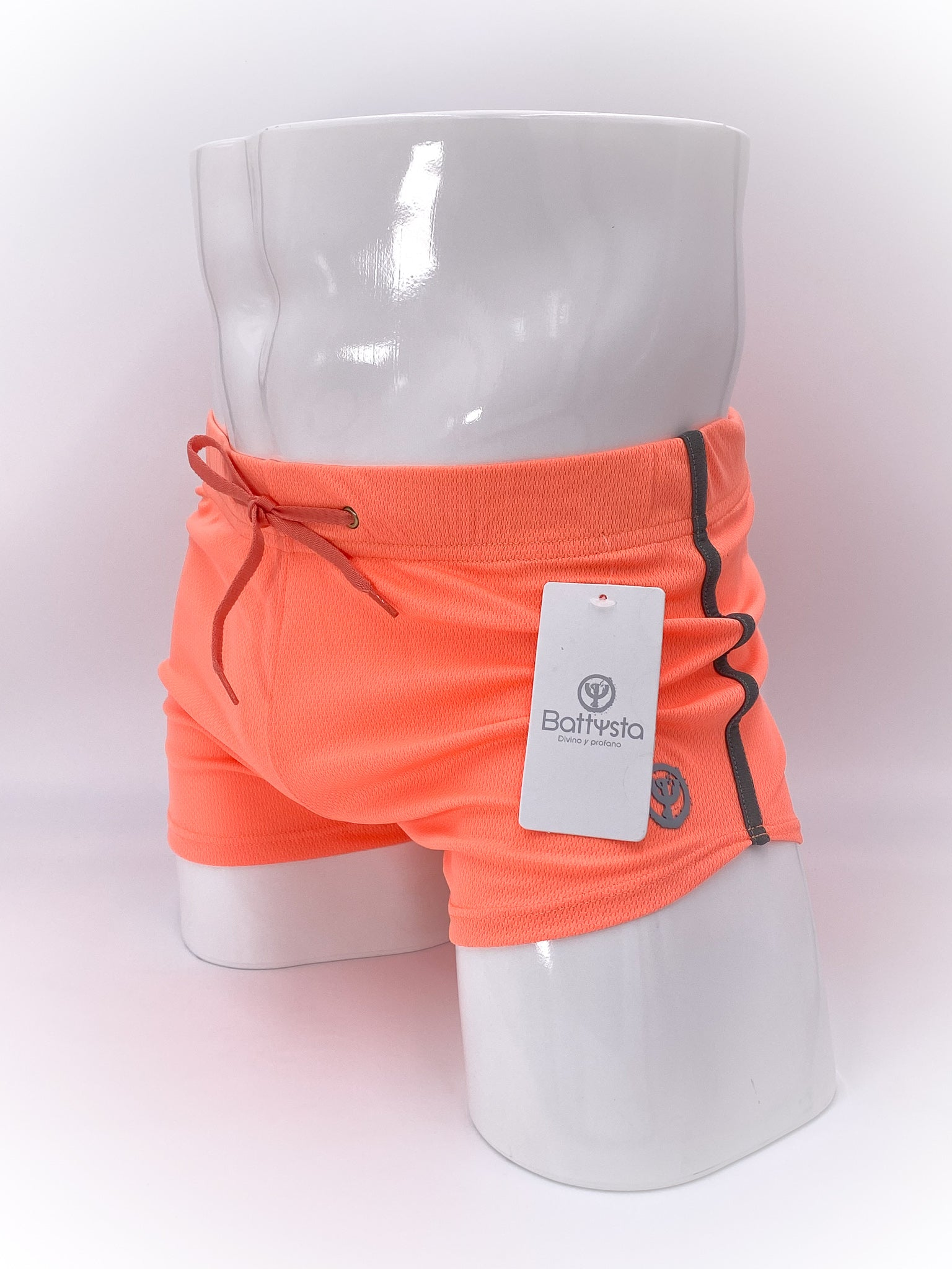 Coral Commando Stretch Short Shorts