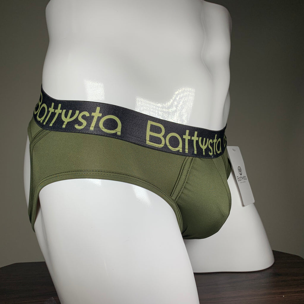 Military Green Briefs Jocks