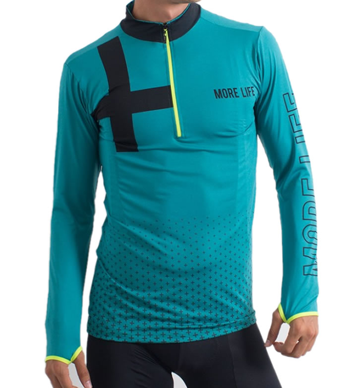 PLUS RUN - Mens Running Jersey