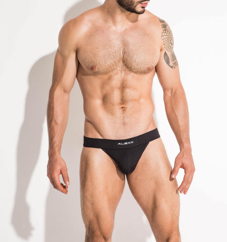 Tangy Thong Black | UNDERWEAR | ALEXX | OUTFAIR