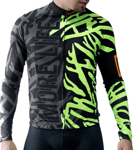BLACK PANTHER - Mens Cycling Jersey | CYCLING JERSEY | MORE LIFE | OUTFAIR