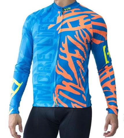 BLUE PANTHER - Mens Cycling Jersey | CYCLING JERSEY | MORE LIFE | OUTFAIR