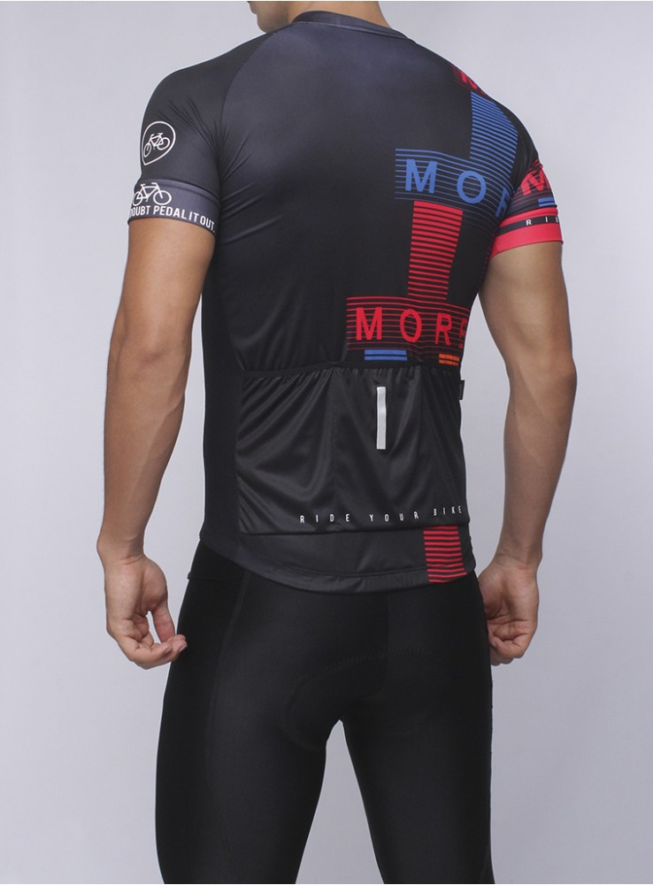 MORE LIFE - Mens Cycling Jersey