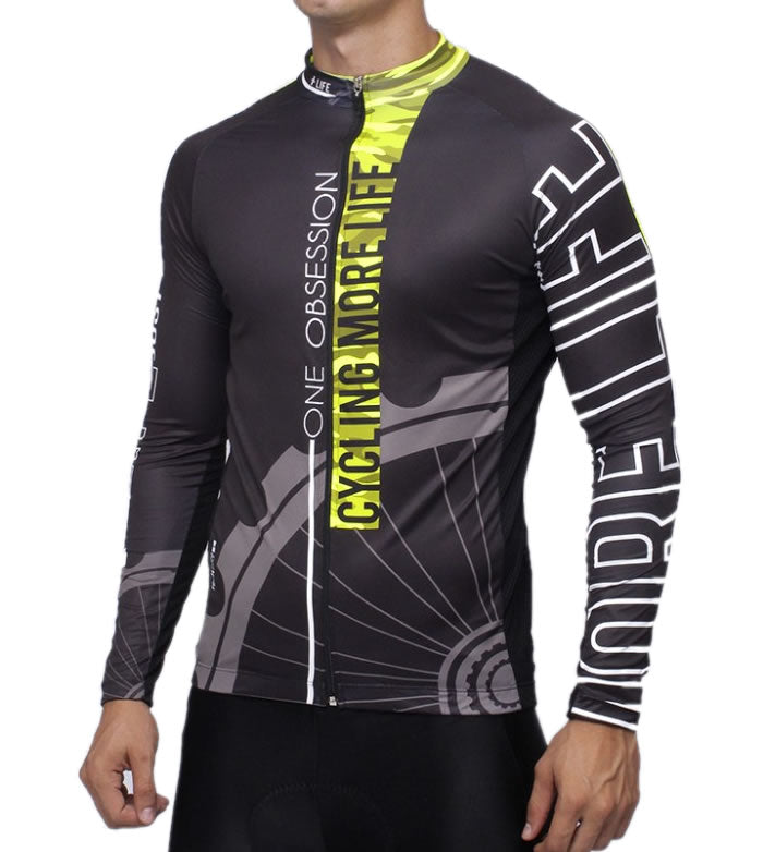 CYCLING OBSSESION - Mens Cycling Jersey