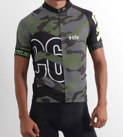 BLACK ARMY - Mens Cycling Jersey |  CYCLING JERSEY | MORE LIFE | OUTFAIR