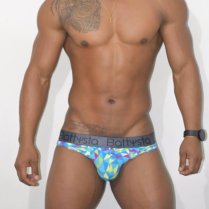 Geometric colors Briefs