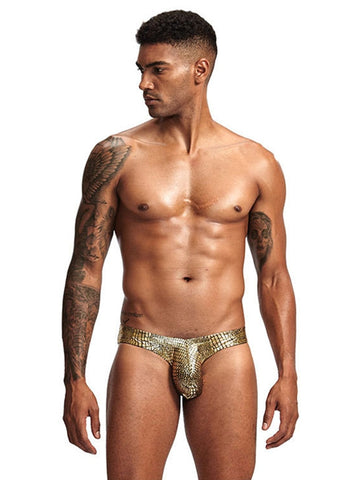 GOLD SNAKESKIN | SWIMWEAR | LAVISH NY | OUTFAIR