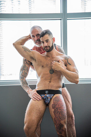 CAMO PAW BLACK JOCKSTRAP | UNDERWEAR | ESTEVEZ | OUTFAIR