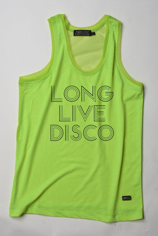 OUTFAIR Long Live Disco Tank |  TANK TOP | INDECENT EXPOSURE | OUTFAIR