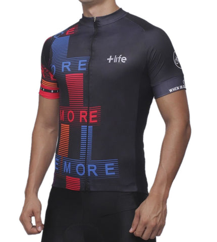 MORE LIFE - Mens Cycling Jersey | CYCLING JERSEY | MORE LIFE | OUTFAIR