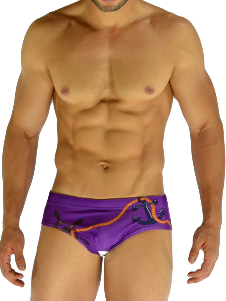 NAUTICAL PURPLE BRIEF