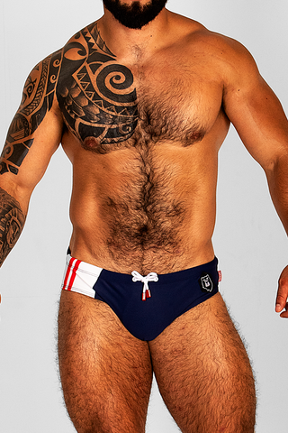 SPORT BEAR BLUE SWIMSUIT | SWIMWEAR | ESTEVEZ | OUTFAIR