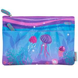 2 Zip Mermaid Pencil Case