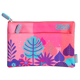 2 Zip Jungle Adventure Pencil Case