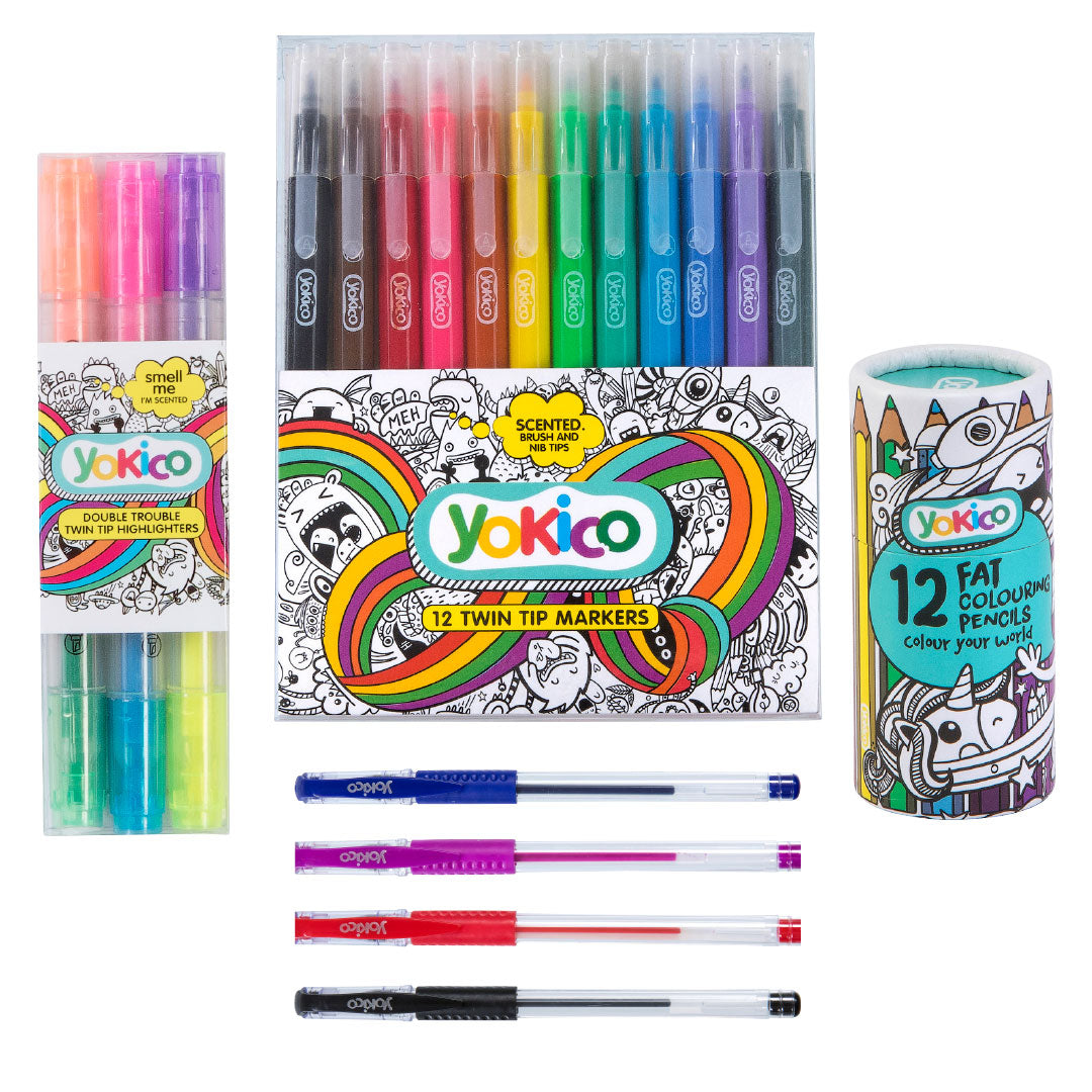 31 Piece Creative Marker Pack
