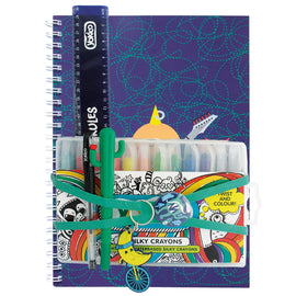 Blue Rockers A4 Notebook Gift Pack