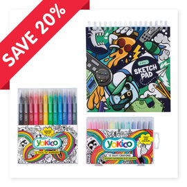 Sketchpad Graffiti Pizza - Artist Pack