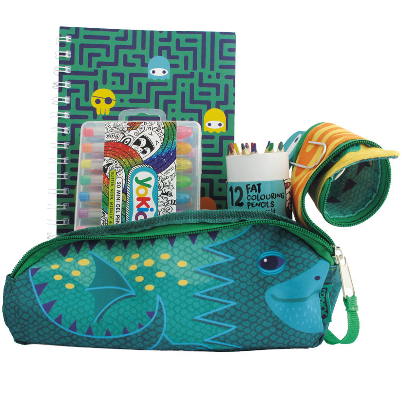 Dragon Pencil Case Gift Pack