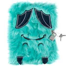 Batty Fluffy Lockable Journal