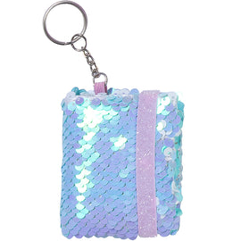 Blue Mini-Notebook Keychain