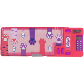 Kitty Press & Pop Pencil Case