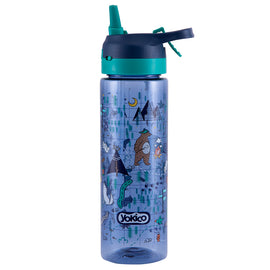 Map Adventure Spray Water Bottle
