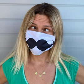 Adult Mustache Mask