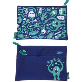 2 Zip Monster Mash Pencil Case