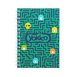 Green Maze A5 Notebook