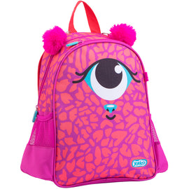 Eye Small Pink Backpack