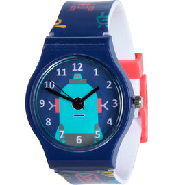 Blue Robot Watch
