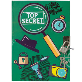 Lockable Detective A5 Journal